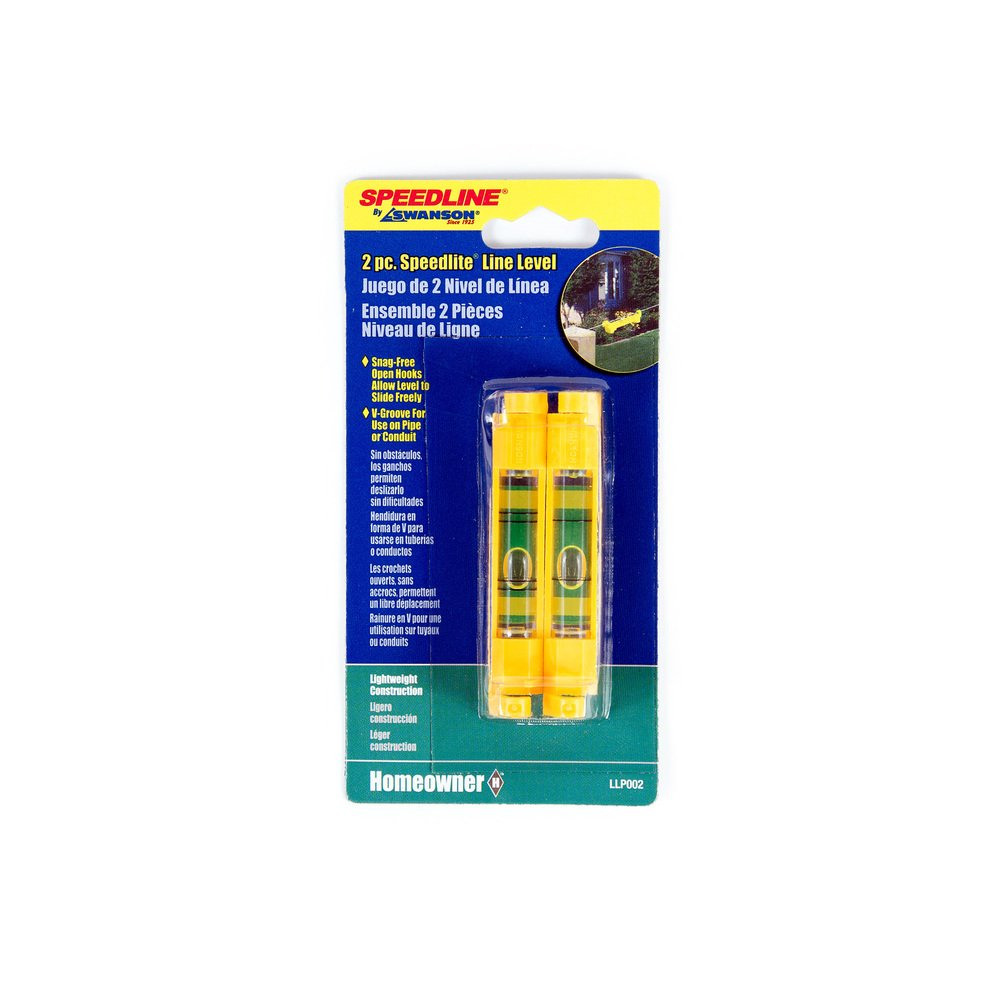 2-Pack Swanson Tool LLP002 Line Level