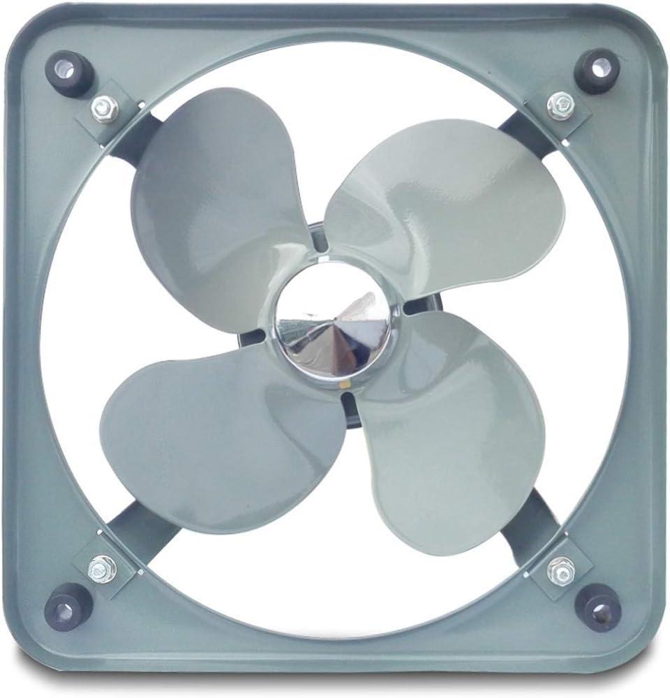 QZKFJ Extractor baño, Cocina Extractor de Hogares de bajo Ruido Industria Ventilador de ventilación Extractor Ventana Tipo Ventilador (Size : 14 Inches)