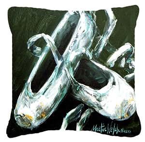 Los dedos de los pies de oro de Ballet tela de lona almohada decorativa–MW1168PW1414