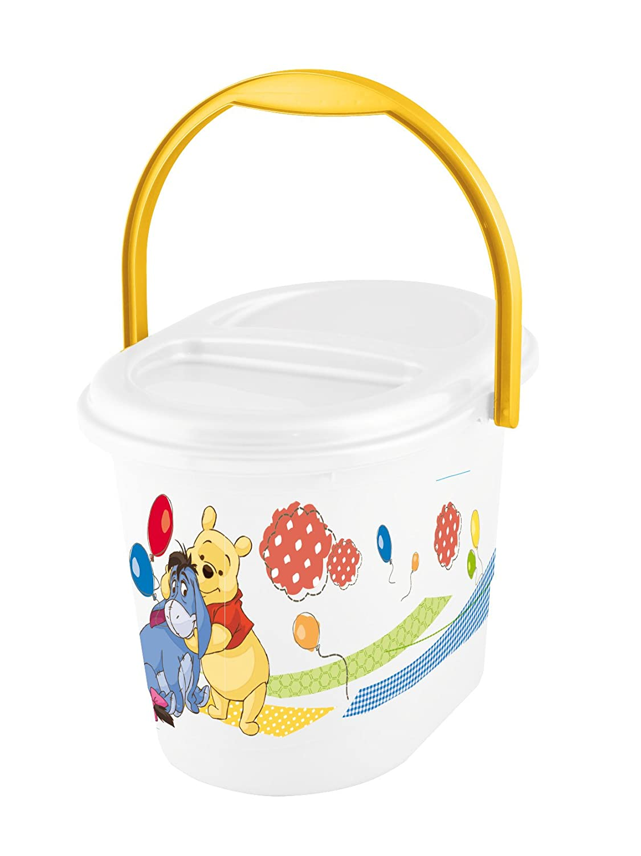 Disney Baby Nappy Bucket Bin Winnie the Pooh - White OKT Kids 1180010000300