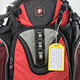 5 Pack - Premium Rigid Airline Luggage Tag Holders