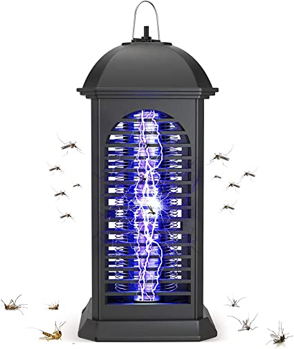 Electric Insect Mosquito Fly Killer Bug Zapper UV Indoor Pest Catcher Trap Lamp.