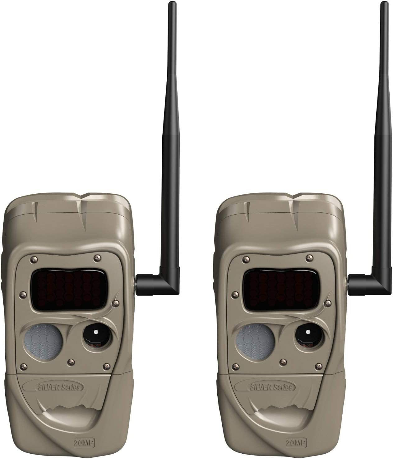 Cuddeback J-1538 CuddeLink Long Range Black Flash Trail Camera (2-Pack) Bundle (2 Items)