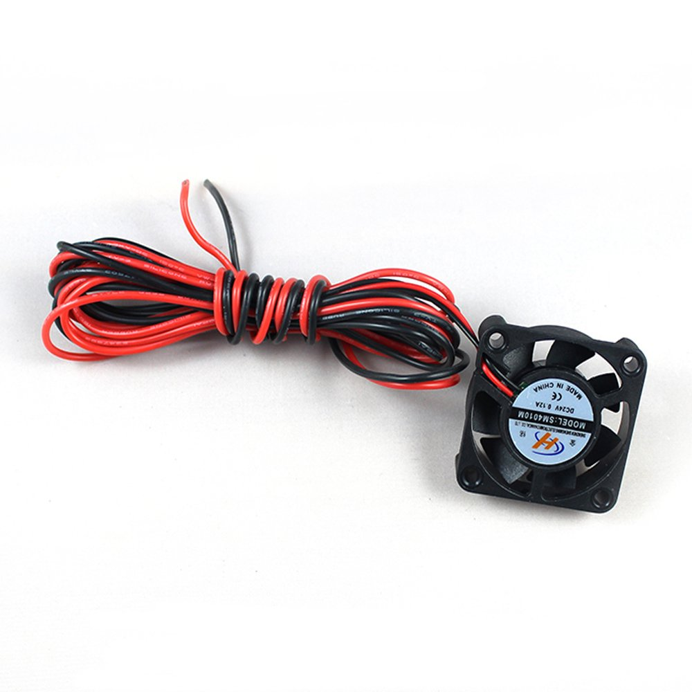jgaurora 3d printer extruder 2 Fans for A3S A5: Amazon.es ...