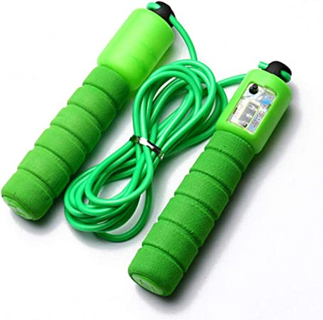 Sponge Jump Rope With Counter Exercise Boxing Gym Workout Fitness Adult Kids