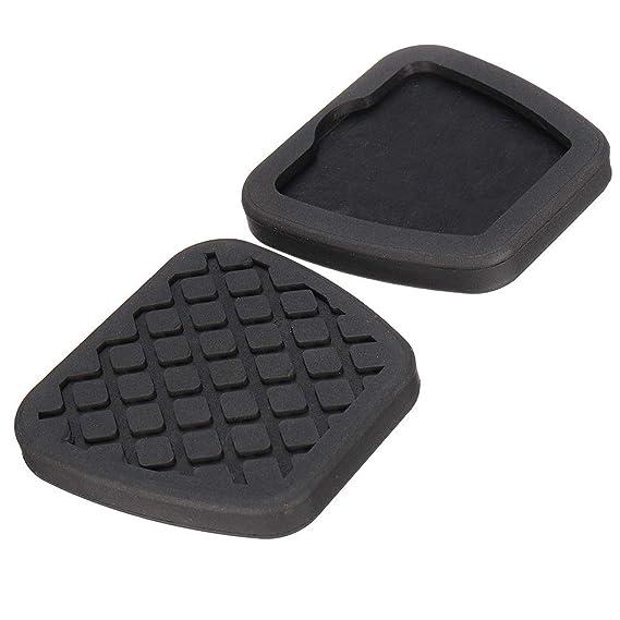 1 par de embrague del freno de pedal cubierta de goma Negro antideslizante Almohadilla de repuesto para Civic 46545-SA5-000: Amazon.es: Coche y moto