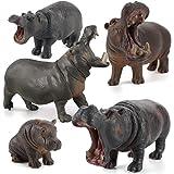 PYGMY HIPPOPOTAMUS /& CALF baby FAMILY CollectA # 88686 # 88687 Wild Animal NWT
