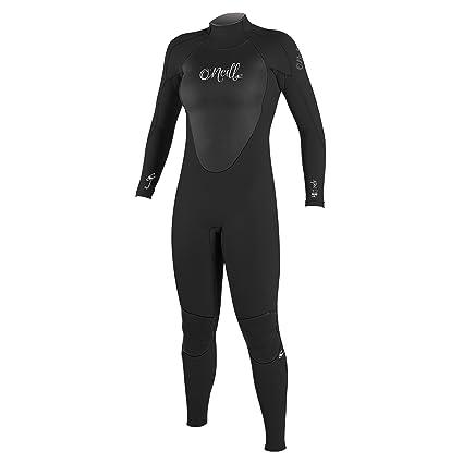 59bd33660b Amazon.com  O Neill Women s Epic 3 2mm Back Zip Full Wetsuit  Sports ...