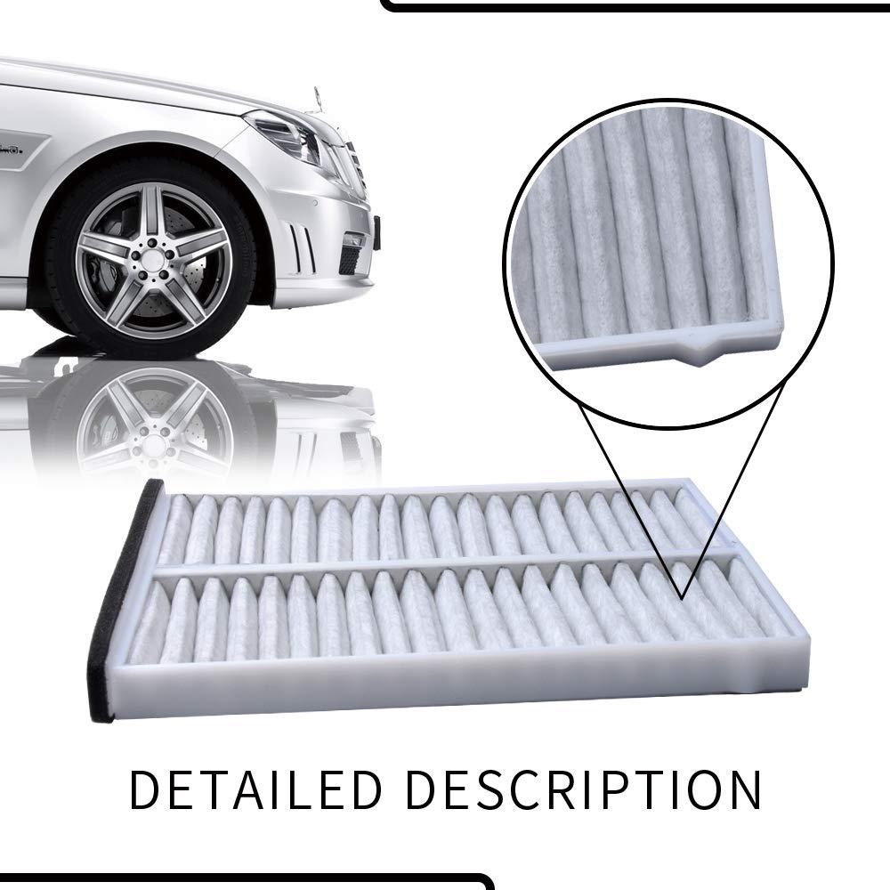 Mazda 6 2014-2017 OTUAYAUTO Cabin Air Filter for Mazda 3 2014-2018 Mazda CX-5 2013-2017 Replace OEM#: KD45-61-J6X