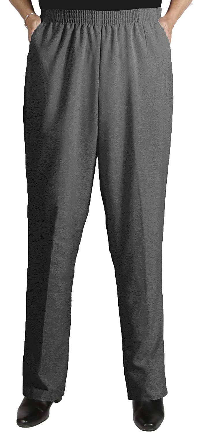 Viviana Charcoal Grey Shaped Fit Pant