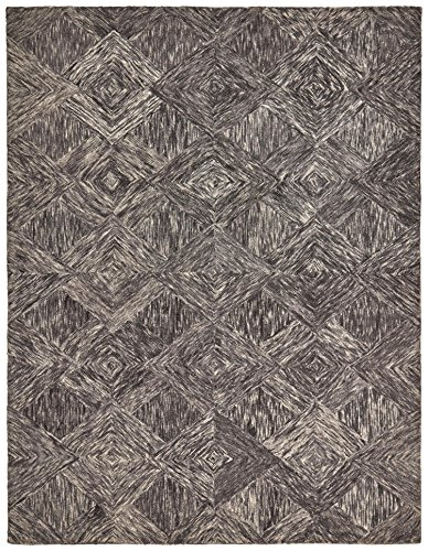 Amazon Com Rivet Motion Patterned Wool Area Rug 3 9 Quot X 5
