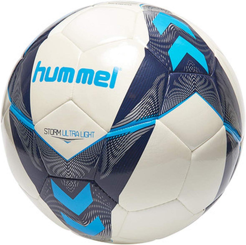 Hummel Storm Ultra Light FB Interior y Exterior - Pelotas de fútbol, Específico, Interior y Exterior, Estampado, EVA (Etileno Acetato de Vinilo), Poliuretano, 1 Pieza(s)