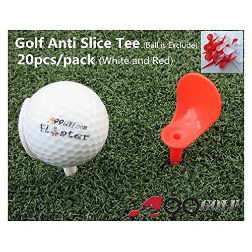 20pcs/pack A99 Golf Anti-Slice Tee 3 1/4