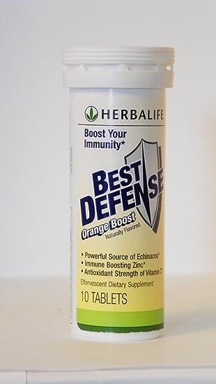 Amazon.com: Herbalife mejor Defensa – Un Effervescent Bebida ...