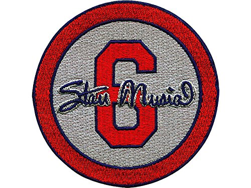 Emblem Source Stan The Man Musial No.6 St Louis Cardinals Memorial Gray Sleeve Patch, 2013