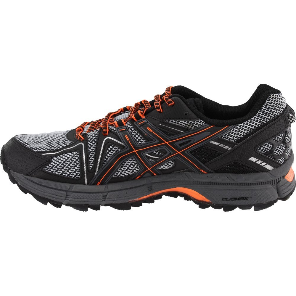 ASICS Mens Gel-Kahana 8 Running Shoe Black/Hot Orange/Carbon 6.5 Medium US by ASICS (Image #4)