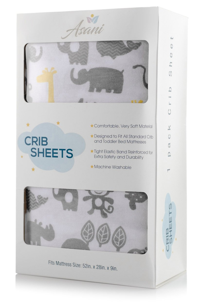 Amazon Com Fitted Baby Crib Sheet Extra Soft