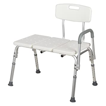 Amazon.com: WaaGee Medical Shower Chair 10 Height Adjustable Bath ...