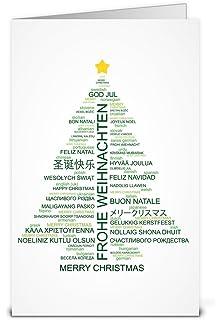 Weihnachtsgrüße In Französisch.Internationale Weihnachtskarten Set 10 X 5 Motive Weihnachtsgüße In