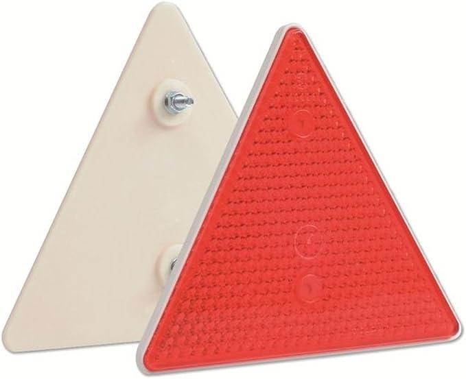 Rückstrahler Dreieckig Rot Befestigung M6 2 Stück Baumarkt