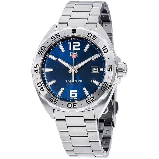 TAG Heuer Formula 1 Reloj de Hombre Cuarzo 41mm Correa de Acero WAZ1118.BA0875: Amazon.es: Relojes