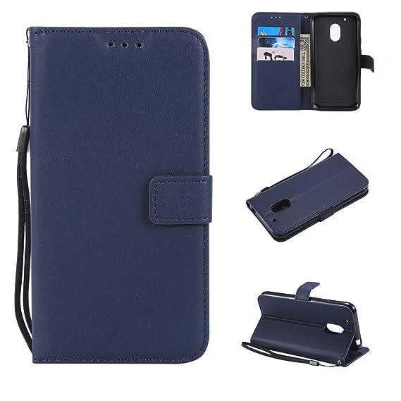 sale retailer bd7c2 d5cfb Amazon.com: Motorola Moto G4 Play Wallet Case, Motorola Moto G4 Play ...