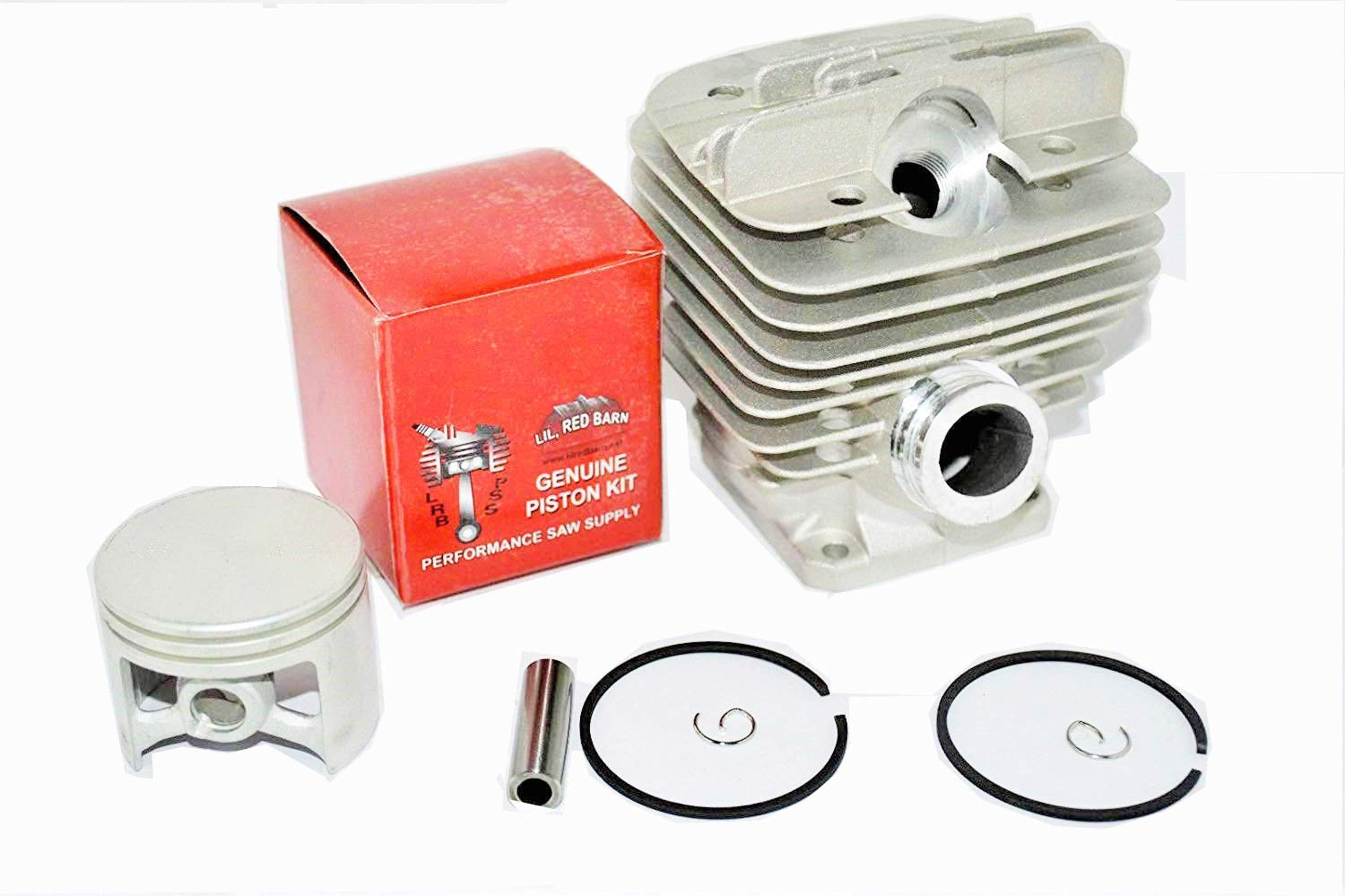 Lil Red Barn Stihl 034, 034 Super, 036 Cylinder & Piston Kit w Gaskets 48mm, Replaces Stihl Part # 1125-020-1202 or 1125-020-1209