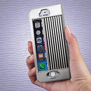 iPhone Shutter Case iGuard5/5S for iPhone5 or 5S (Satin Silver)