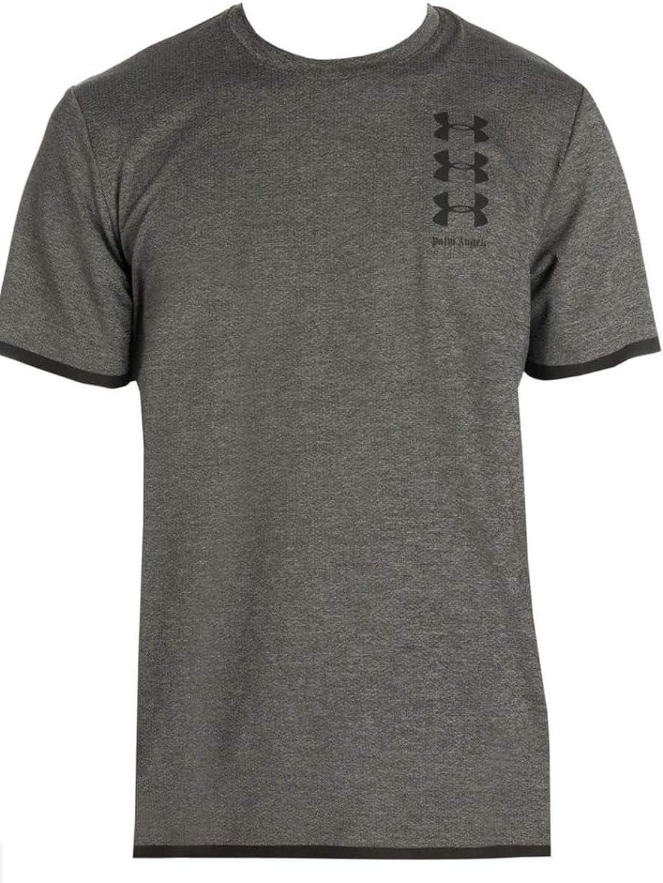 Trascendencia Lágrima tubo  PALM ANGELS x Under Armour Melange Logo Tee at Amazon Men's Clothing store