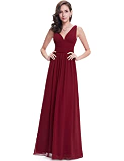 a0e76beca6 Ever-Pretty Sleeveless V-Neck Semi-Formal Maxi Evening Dress 09016