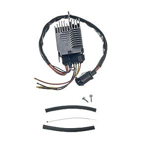 A-Premium Radiator Fan Control Module for Audi A6 2006-2011 A6 Quattro 2005-2011