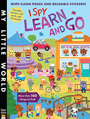 Little Tiger - I Spy Learn and Go Sticker Activity (My Little World)