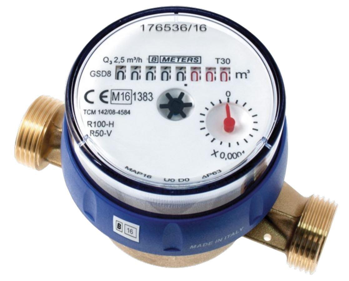 risparmia il 50% -75% di sconto 1 2  BSP DN15 Contatore Dell'acqua Fredda Alta Alta Alta Qualità Flusso Controcontrollo  prodotto di qualità