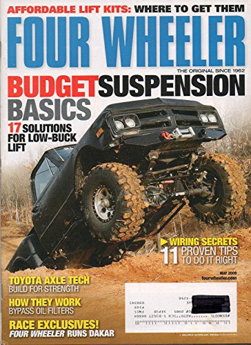 Alpha Lift Ram (Four Wheeler May 2009 Magazine AFFORDABLE LIFT KITS: WHERE TO GET THEM Toyota Axle Tech: Build For Strength)