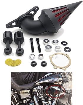 Luft Sauberer Kits Für Harley Low Rider Touring Road King Electra Softail Schwarz Auto