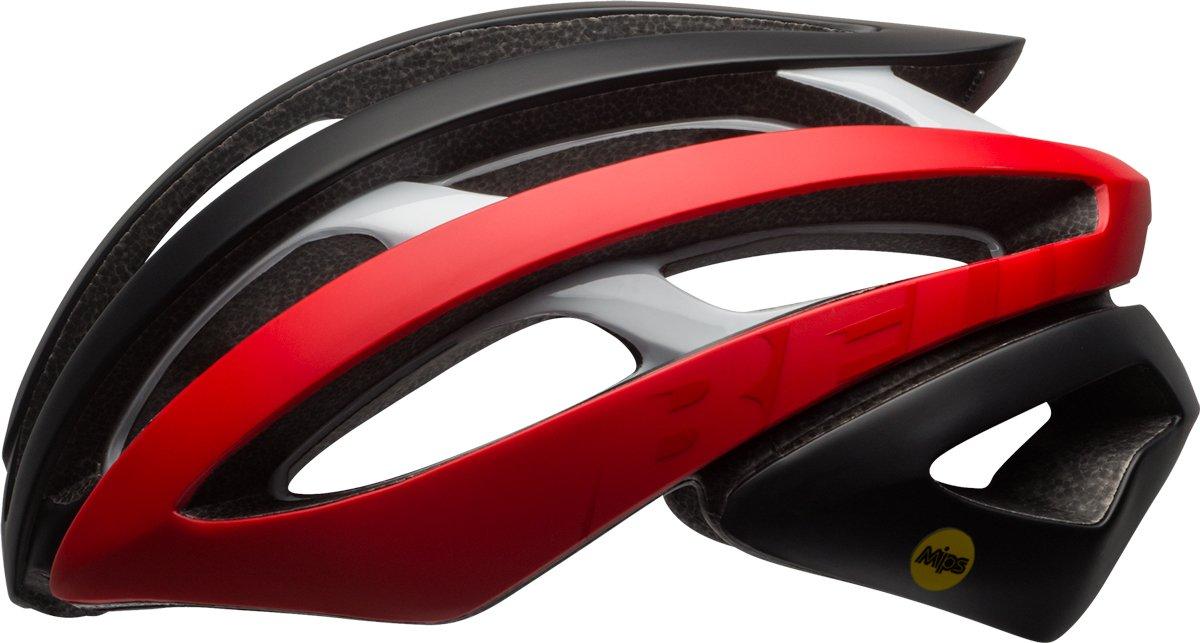 BELL Zephyr MIPS Rennrad Fahrrad Helm schwarz rot weiß 2018  Größe  L (58-62cm)