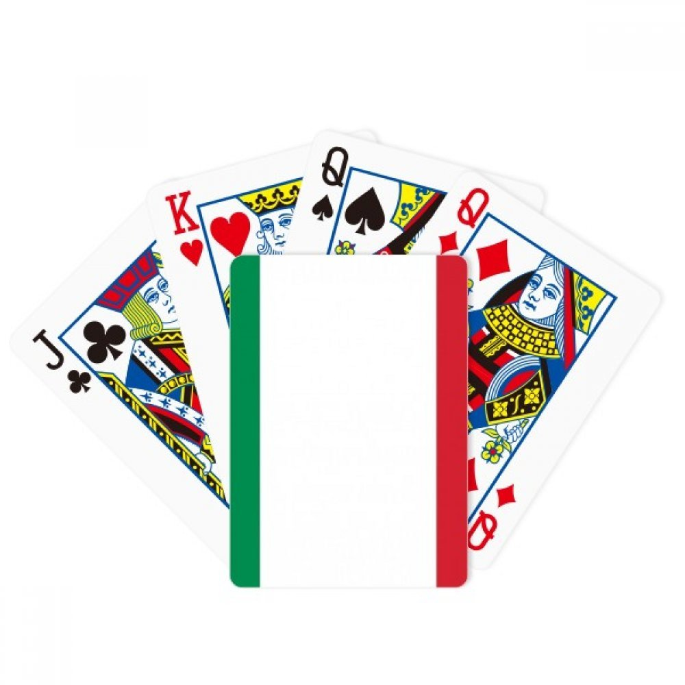 Italy National Flag Europe Country Poker Playing Cards Tabletop Game Gift