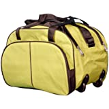 N Choice Fabric 35 Ltr Green Soft Sided Travel Duffle