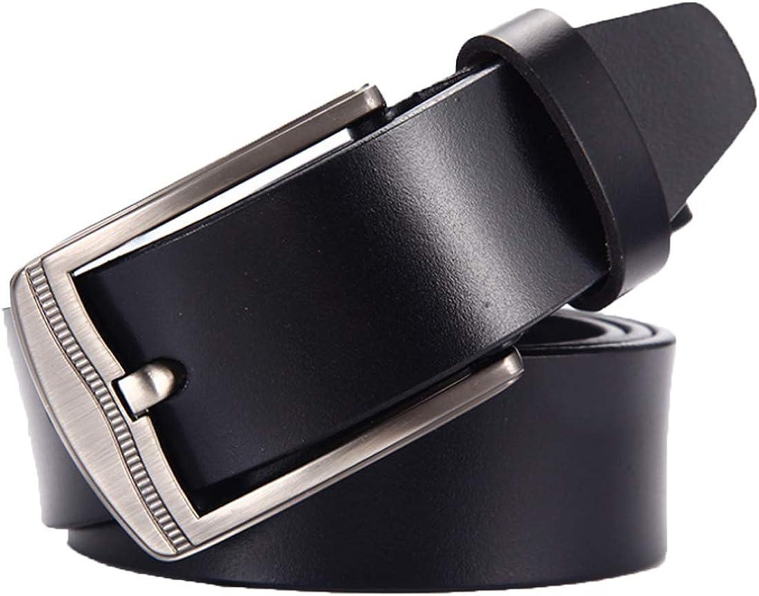 Huicai Men leather belt waist belt adjustable man trousers belt