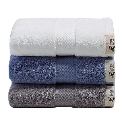 3pcs Luxury Hotel & Spa toalla de baño toallas de mano de la casa toalla de