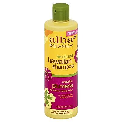 Alba Botanica naturales Hawaiian Champú–Colorific Plumeria 355ml (Pack of 3)
