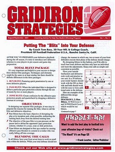 Best Price for Gridiron Strategies Magazine Subscription