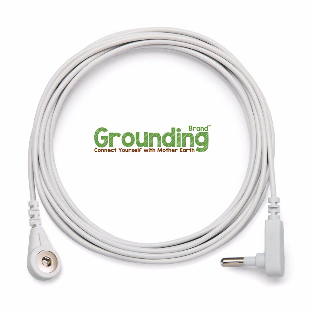 Earthing Sheet with Grounding Connection Cord - 400TC Conductive Mat with Pure Silver Thread for Better Sleep, Natural Wellness and Healthy Earth Energy, Beige, King (Fitted King Sheet, Beige) by Grounding Brand (Image #5)
