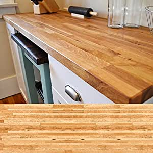 "Builder Oak Butcher Block 20""W x 26""L x 1-1/2""Thick"
