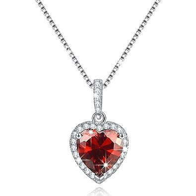 birthstone necklace aquamarine swarovski valentines