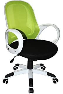 Boraam 97919 Nelson Adjustable Modern Office Chair, Lime Green U0026 Black, One  Size