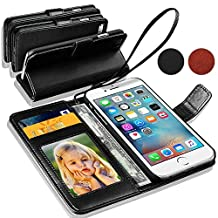 GBOS® Genuine Luxury Leather Stand Wallet Flip Case Cover For MOTOROLA MOTO G 3RD GEN With Free Screen Protector (Specially Manufactured - Premium Quality) Antique Leather Case