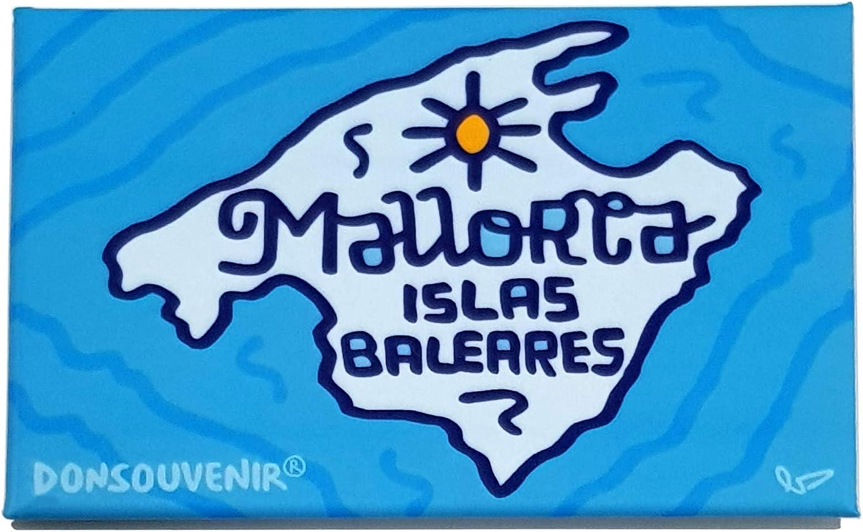 DONSOUVENIR IMAN Mallorca. Modelo: Mapa. MAGNETICO: Amazon.es: Hogar