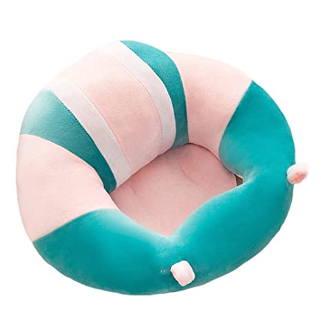 Sofá del asiento de la ayuda del bebé, silla del bebé del puf para el bebé infantil que aprende sentarse silla