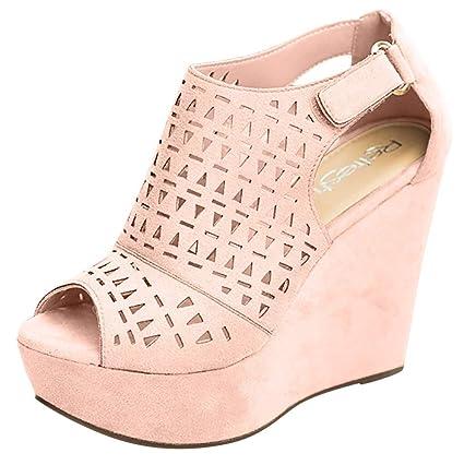 2f32d8b940b04 Amazon.com: ❤ Mealeaf ❤ Fashion Retro Womens Hollow Strap ...